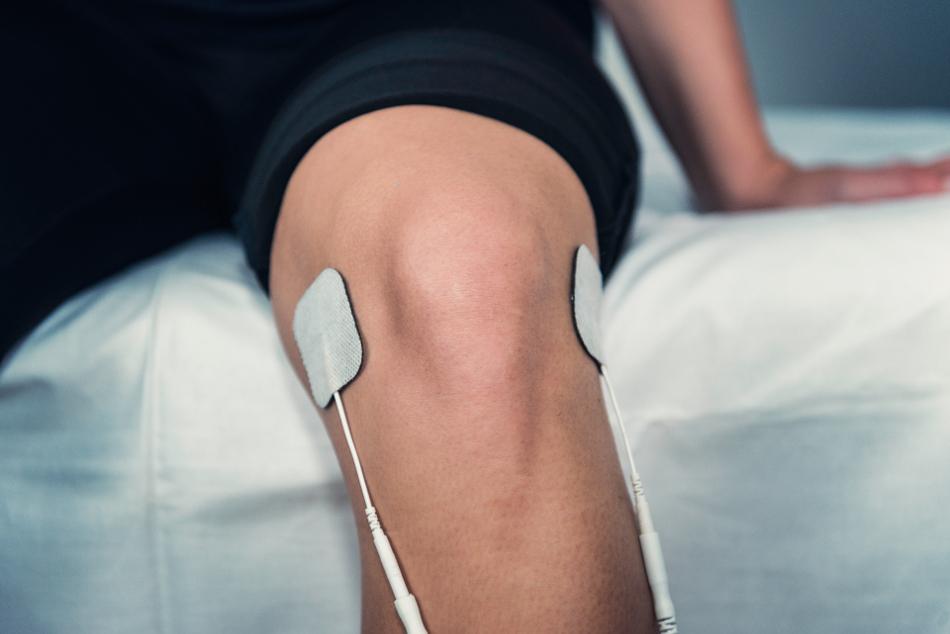 Ligamentos de la rodilla inflamados
