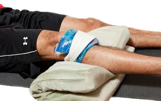 Distensión de ligamentos de rodilla
