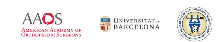 AAOS-ISAKOS-Universidad de Barcelona